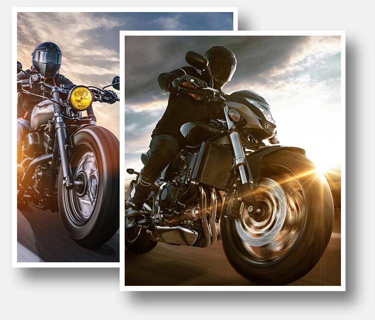 controllare la moto